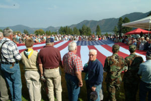 Farragut NTS Reunion Bob Flag