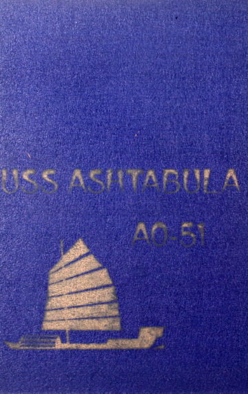 USS Ashtabula (AO-15) Navy Cruise Book 1970-1971