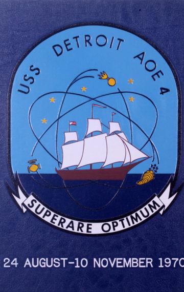 USS Detroit AOE-4 Vietnam Era Navy Cruise Book 1970
